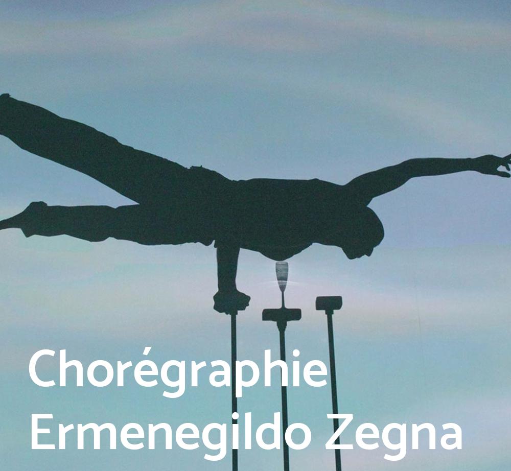 Chorégraphie Ermenegildo Zegna